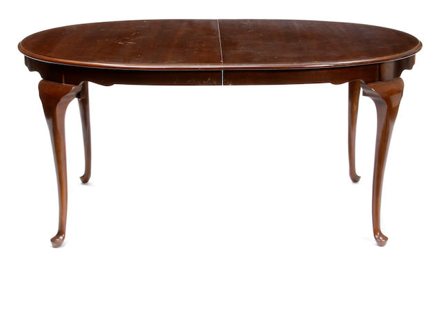 A George III style mahogany dining table