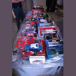 An assorted group of diecast models,