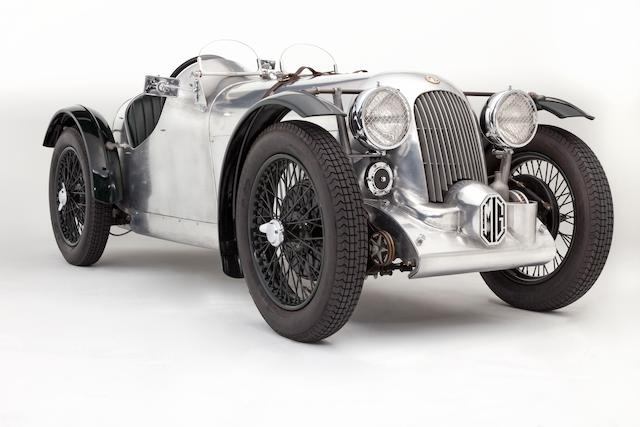 1934 MG PA Supercharged Vintage Racing Special  Chassis no. PA1268 Engine no. 1554AP