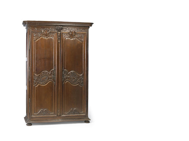 A Louis XV oak armoire 18th century