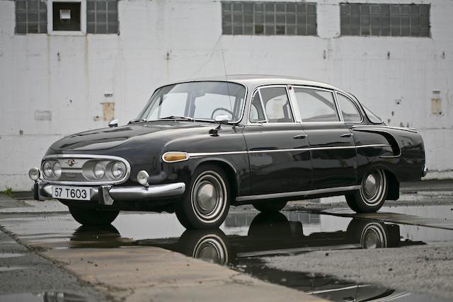 1957 Tatra 603 Sedan  Chassis no. 6480