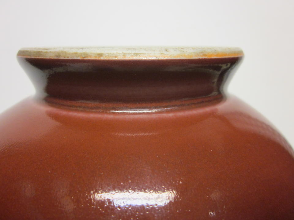 A copper red glazed porcelain vase (yuhuchunping) Yongzheng Mark and Period