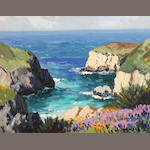 Carl Sammons (American, 1883-1968) Point Lobos, Carmel, California, 1940 6 x 8in