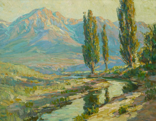 Benjamin Chambers Brown (American Lights and shadows, High Sierras 28 1/4 x 36 1/4in