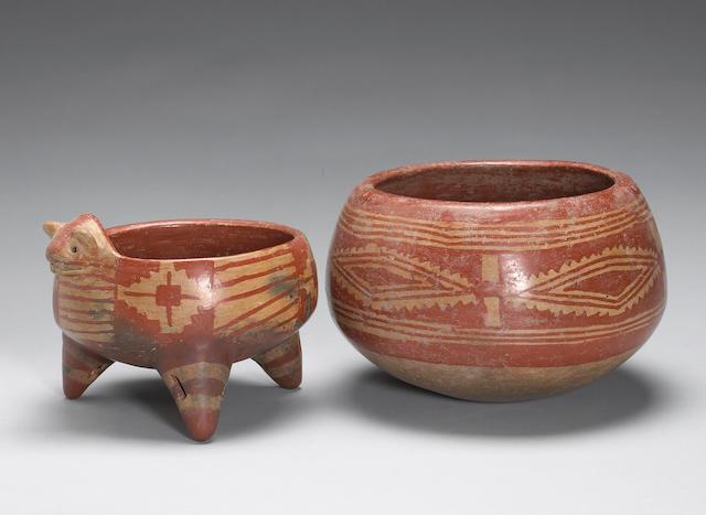 Two Chupicuaro vessels