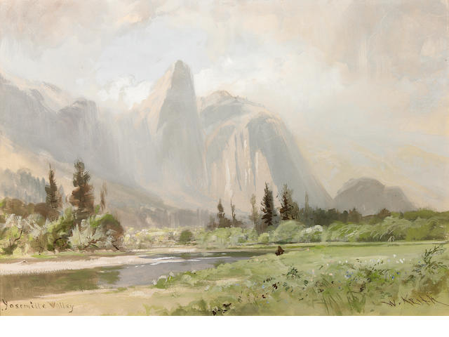 William Keith (1838-1911) Yosemite Valley 14 x 19 1/2in