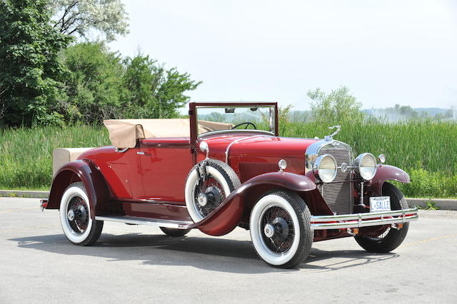 The Percy Cowan, 'Rum-Runner',1929 LaSalle Convertible Coupe  Chassis no. 421186 Engine no. 421186