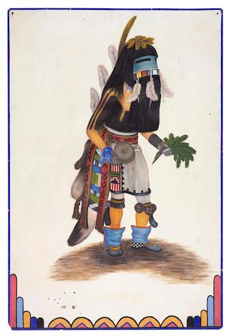 A Hopi painting