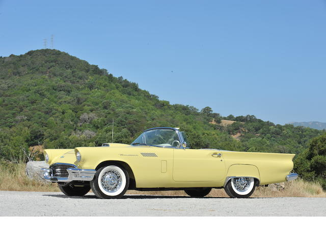 1956 Ford Thunderbird  Chassis no. E7FH139732