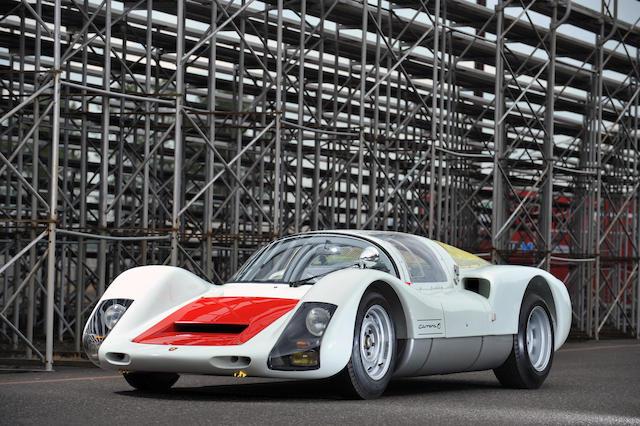 Ex-Alan Hamilton/Richard Hong/Teddy Yip,1966 Porsche Typ 906 Carrera Competition Coupé  Chassis no. 906-007 Engine no. 906-153