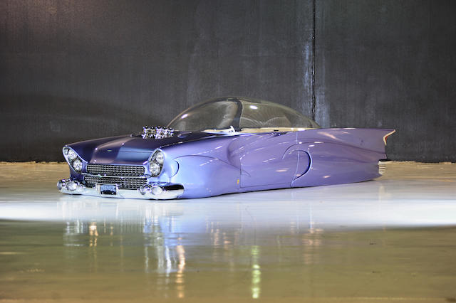 "1955 Ford ""Beatnik Bubbletop"" Custom   Chassis no. U5UG116632"