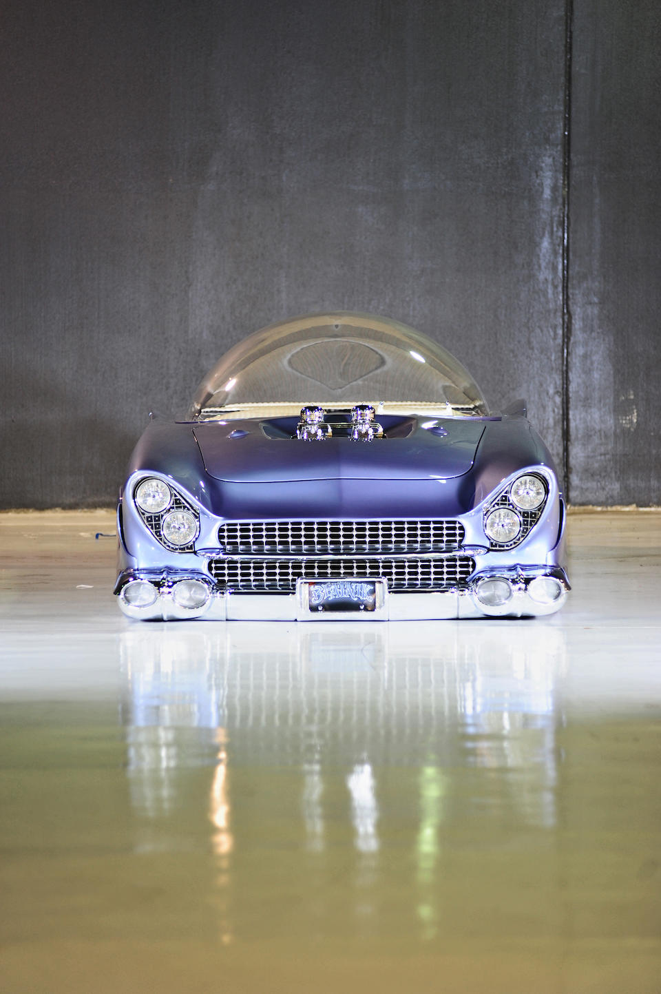 "Built by Gary ""Chopit"" Fioto, multiple first place winner,1955 Ford ""Beatnik Bubbletop"" Custom  Chassis no. U5UG116632"