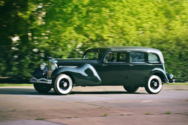 Ex-Father Devine, the largest Duesenberg ever built,1937 Duesenberg Model J 'Throne Car' Limousine  Chassis no. 2613 Engine no. J-587