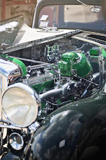 "Formerly the property of Reverend Major Jealous ""Father"" Divine, AKA ""The Messenger"", the penultimate Duesenberg chassis and engine and the largest example ever built,1937 Duesenberg Model J 'Throne Car' Limousine Landaulet  Chassis no. 2613 Engine no. J-587"