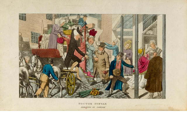 Combe, William Tour of Doctor Syntax through London; or the Pleasures and Miseries of the Metropolis. A Poem. J. Johnston, London, 1820