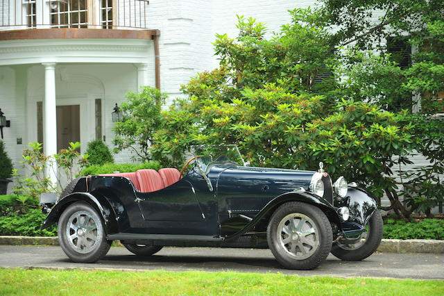 1930 Bugatti Type 43 Sports Four Seater  Chassis no. 43286 Engine no. 133