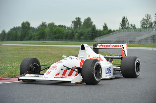 The Ex-Michele Alboreto,1990 Footwork-Arrows FA11B Formula 1 Racing Single-Seater  Chassis no. A11B03