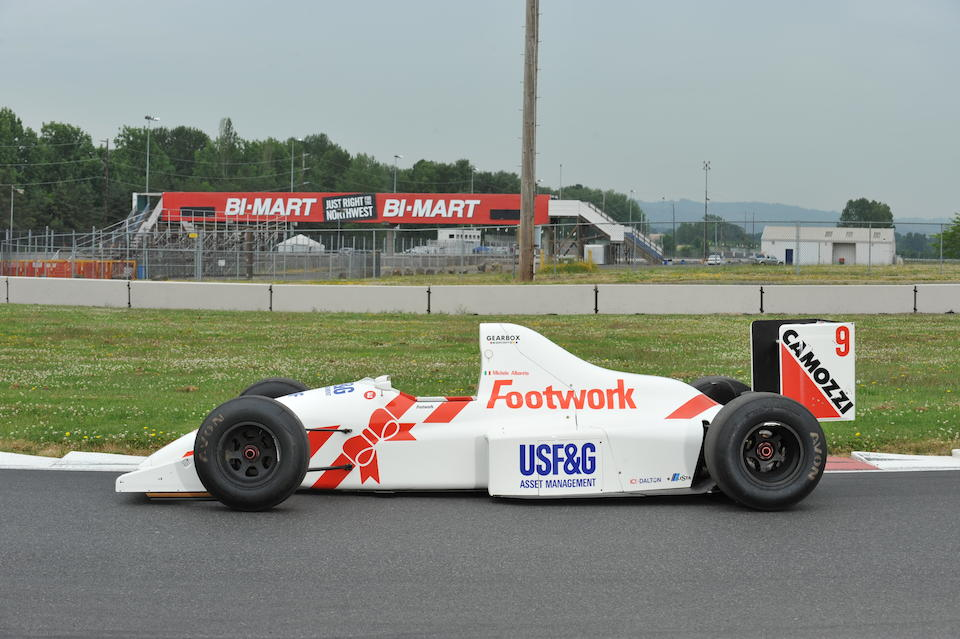 The Ex-Michele Alboreto,1990 Footwork-Arrows FA11B Formula 1 Racing Single-Seater  Chassis no. A11B03