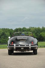 One of 248 Twin Grille Roadsters built,1962 Porsche 356 1600 B T6 Roadster  Chassis no. 89753 Engine no. P700369