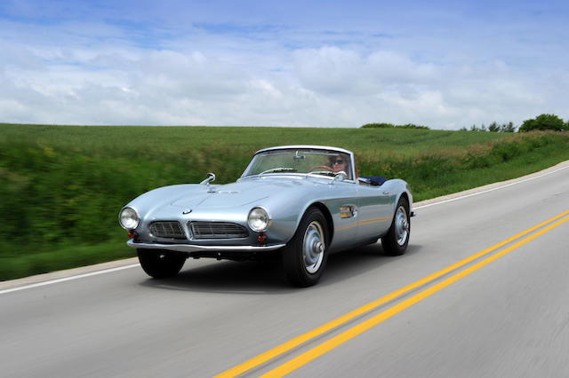 Fresh restoration with engine rebuild by Motion Products,1957 BMW 507 Roadster with Hard top  Chassis no. 70038 Engine no. 40037