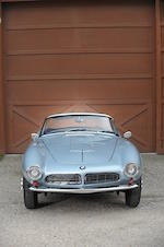 1957 BMW 507 Roadster  Chassis no. 70038 Engine no. 40037