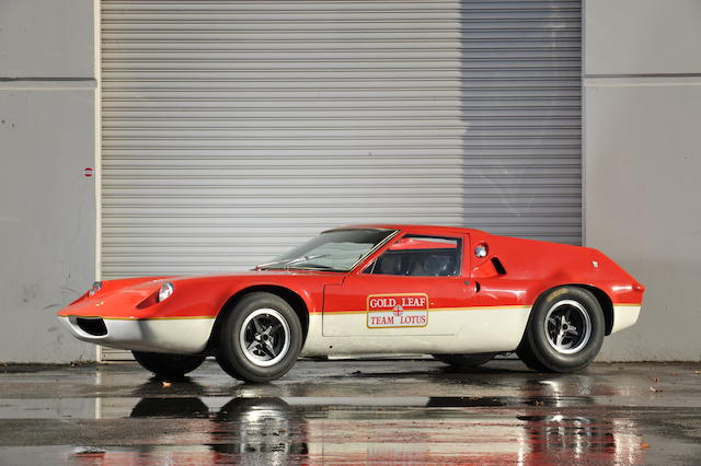 The ex-Nick Moore Racing,1966 Lotus 47 GT Group 4 Competition Coupé  Chassis no. 47 GT 10 Engine no. LP1856