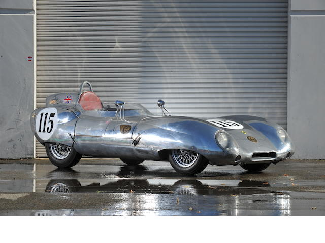1983 Monaco Historic Grand Prix award-winning,1956 Lotus Eleven Series 1 Sports-Racing Two-Seater