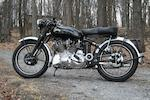 1953 Vincent Series C Rapide Frame no. RC10382C Engine no. 8482