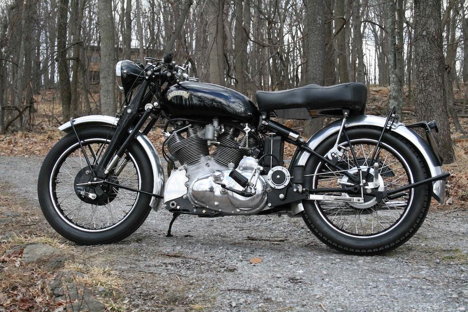 1953 Vincent 998cc Series C Rapide Frame no. RC10382C Engine no. F10AB/1/8482