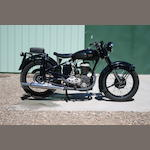 1951 Gillet 350 Frame no. 500541 Engine no. 500541