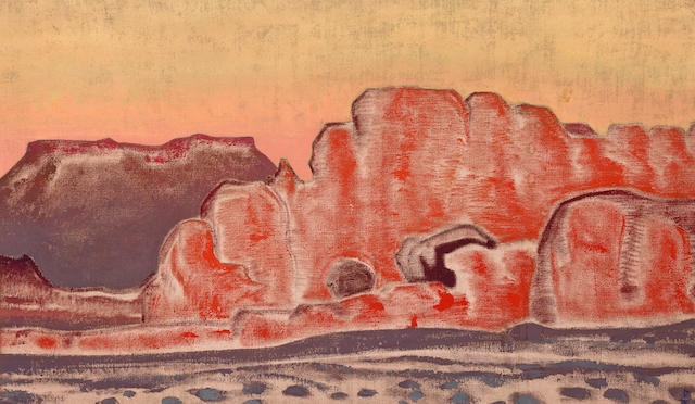 Nikolai Konstantinovich Roerich (Russian, 1874-1947) The Grand Canyon, c. 1921