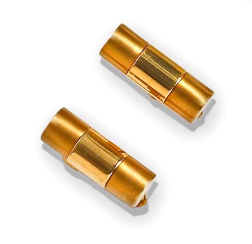 A pair of eighteen karat gold cufflinks, Rolex