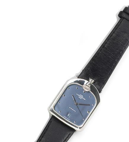 Swiss. A stainless steel automatic calendar Audi radiator wristwatch