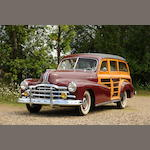 1948 Pontiac Streamliner 'Woodie' Station Wagon  Chassis no. P8PB24430