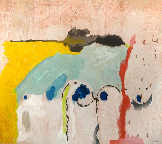Helen Frankenthaler (American, born 1928); Tales of Genji;