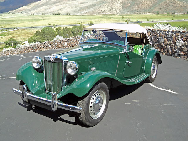 1953 MG TD/C Roadster  Chassis no. XPAG321183 Engine no. 21183
