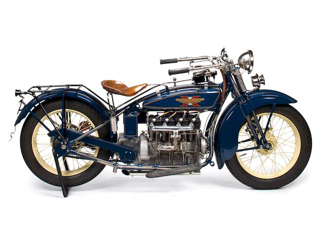 1928 Henderson De Luxe Four Frame no. D23472A Engine no. D23472A
