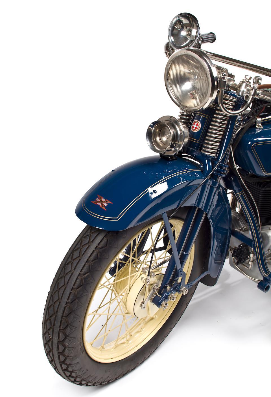 1928 Henderson De Luxe Four Frame no. D23472A Engine no. D23472A