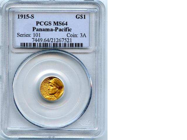 1915-S Panama-Pacific G$1 MS64 PCGS