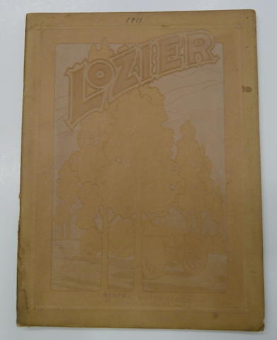 An original 'Lozier' sales brochure, 1911,