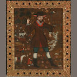 Collao School Saint Isidore the Laborer 28 1/2 x 23in