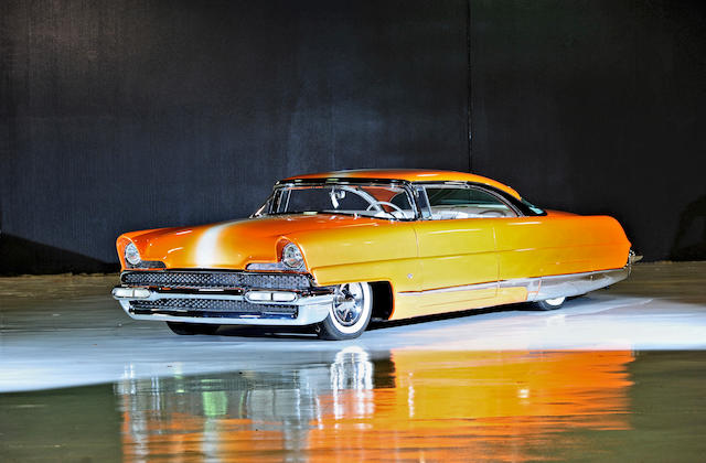 "Built by Gene Winfield and Bill Reasoner,1956 Lincoln Premiere ""Dreamsicle"" Hot Rod  Chassis no. 56WA47889L"