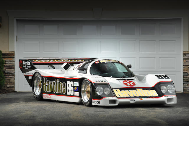 1987 & 1988 12 Hours of Sebring Overall Winner and the winningest 962 of the 1987 season,1986 Porsche Typ 962 IMSA GTP  Chassis no. 962-121 Engine no. 361