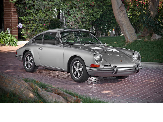 1967 Porsche 911 Coupe  Chassis no. 308221 Engine no. 911966
