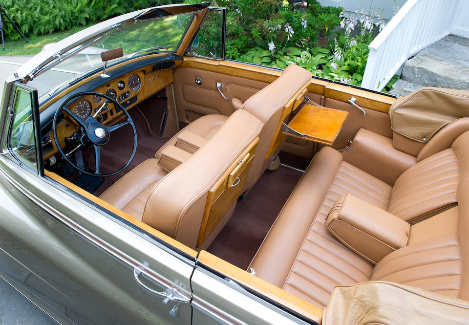 The Sammy Davis Jr., one of only 23 examples built to left hand drive specification,1963 Rolls-Royce Silver Cloud III Drophead Coupe  Chassis no. LSDW 87