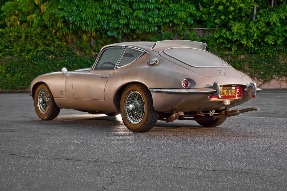 Custom one-off designed by Raymond Loewy, offered publicly for the first time since 1970,1966 Jaguar 4.2-Liter Series 1 XKE Coupe  Chassis no. 1E30635