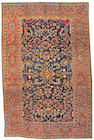 A Fereghan Sarouk carpet Central Persia 6ft. 6in. x 9 ft. 10in.