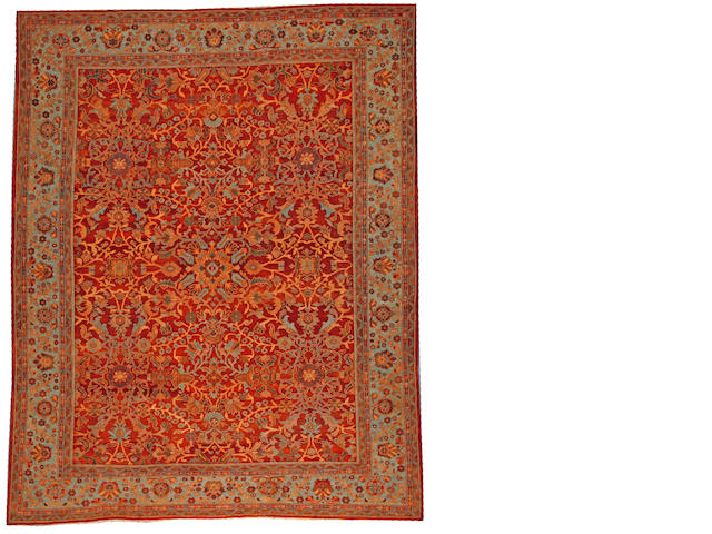 A Sultanbad carpet Central Persia size approximately 10ft. 9in. x 13ft. 7in.