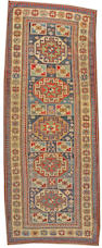 A Kazak carpet Caucasus size approximately 4ft. 4in. x 10ft. 10in.