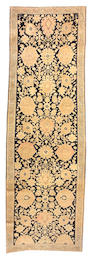 A Karabagh runner Caucasus size approximately 3ft. 10in. x 12ft.